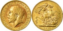 World Coins - Coin, Great Britain, George V, Sovereign, 1912, London, , Gold, KM:820