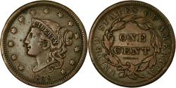 Us Coins - Coin, United States, Coronet Cent, Cent, 1838, U.S. Mint, Philadelphia