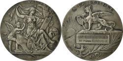 World Coins - France, Medal, A la SCience, Société Industrielle de Rouen, Bottée