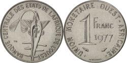 World Coins - West African States, Franc, 1977, Paris, , Steel, KM:8
