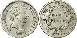 World Coins - Coin, France, Napoléon I, 1/2 Franc, 1811, Rouen, , Silver, KM:691.2