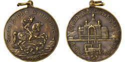 World Coins - Serbia, Medal, Mines de cuivre, Ville de Bor, 1911, , Silver