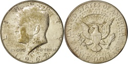 Us Coins - United States, Kennedy Half Dollar, 1968, Denver, KM:202a