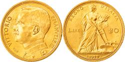 World Coins - Coin, Italy, Vittorio Emanuele III, 20 Lire, 1912, Rome, , Gold, KM:48