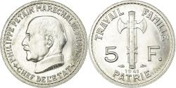 World Coins - Coin, France, Pétain, 5 Francs, 1941, Paris, ESSAI, , Aluminium