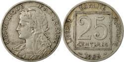 World Coins - Coin, France, Patey, 25 Centimes, 1903, Paris, , Nickel, KM:855