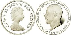 World Coins - Coin, Tuvalu, Elizabeth II, 10 Dollars, 1981, British Royal Mint,