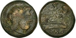 Ancient Coins - Coin, Anonymous, Semis, 211 BC, Rome, , Bronze, Crawford:56/3