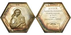 World Coins - France, Token, Compagnie des Mines d'Anzin, Business & industry, 1835, Leveque
