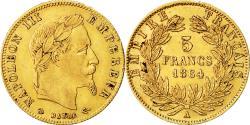 Ancient Coins - Coin, France, Napoleon III, Napoléon III, 5 Francs, 1864, Paris, EF(40-45)