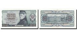 World Coins - Banknote, Austria, 1000 Schilling, 1966, 1966-07-01, KM:147a, AU(50-53)