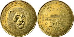 World Coins - France, Token, Thoiry - Château et Parc n°1, 2000, MDP,