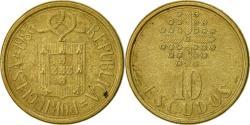 World Coins - Portugal, 10 Escudos, 1986, , Nickel-brass, KM:633