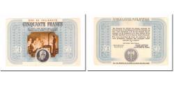World Coins - France, Bon de Solidarité, 50 Francs, Bon de solidarité, AU(50-53)