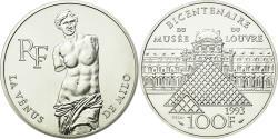 World Coins - Coin, France, 100 Francs, 1993, ESSAI, , Silver, KM:1020, Gadoury:C51