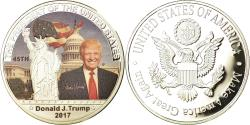 Us Coins - United States of America, Medal, Les Présidents des Etats-Unis, Donald Trump
