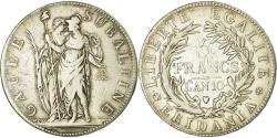 World Coins - Coin, ITALIAN STATES, PIEDMONT REPUBLIC, 5 Francs, An 10, Turin,