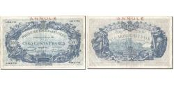 World Coins - Banknote, Belgium, 500 Francs, 1925, 1925-07-27, ANNULÉ, KM:72b, VF(30-35)