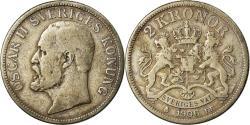 World Coins - Coin, Sweden, Oscar II, 2 Kronor, 1906, , Silver, KM:773