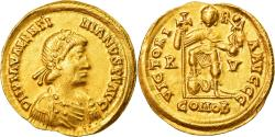 Ancient Coins - Coin, Valentinian III, Solidus, Ravenna, , Gold, Cohen:19