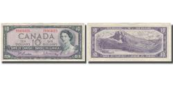 World Coins - Banknote, Canada, 10 Dollars, 1954, KM:79b, EF(40-45)