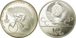 World Coins - Coin, Russia, 10 Roubles, 1978, Saint-Petersburg, , Silver, KM:158.1