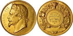 World Coins - Algeria, Medal, Napoléon III, Comice agricole de Sétif, 1870, Desaide