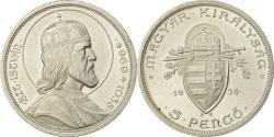 World Coins - Coin, Hungary, 5 Pengö, 1938, , Silver, KM:516
