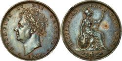 World Coins - Coin, Great Britain, George IV, Farthing, 1828, , Copper, KM:697
