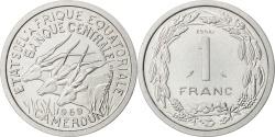 World Coins - EQUATORIAL AFRICAN STATES, Franc, 1969, Paris, KM #E7, , Aluminium, 1.30