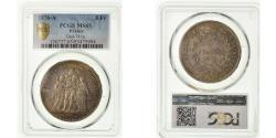 World Coins - Coin, France, Hercule, 5 Francs, 1876, Paris, PCGS, MS65, Silver, KM:820.1