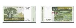World Coins - Madagascar, 2000 Ariary, 2006, KM #90b, UNC(65-70), A3225179S