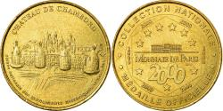 World Coins - France, Token, Touristic token, Chambord - Chateau, 2000, MDP,