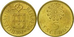 World Coins - Portugal, 5 Escudos, 1991, , Nickel-brass, KM:632