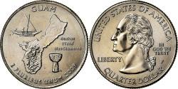 Us Coins - Coin, United States, Guam, Quarter, 2009, U.S. Mint, , Copper-Nickel