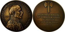 World Coins - France, Medal, Le Maréchal Pétain aux Cheminots Méritants, Fête du Travail