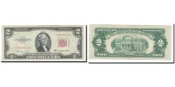 Us Coins - Banknote, United States, Two Dollars, 1953, KM:1623@star, AU(50-53)