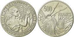 World Coins - Coin, Central African States, 500 Francs, 1976, Paris, MS(65-70), Nickel, KM:E9