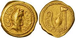 Ancient Coins - Coin, Julius Caesar, Aureus, Rome, , Gold, Cohen:2