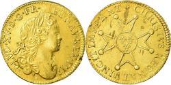 World Coins - Coin, France, Louis XV, Louis d'or à la croix du Saint-Esprit, 1719, Bayonne