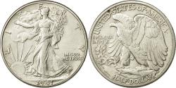 Us Coins - Coin, United States, Walking Liberty Half Dollar, 1941, MS(60-62), KM 142