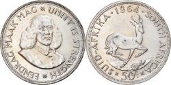 World Coins - Coin, South Africa, 50 Cents, 1964, , Silver, KM:62