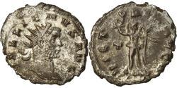Ancient Coins - Coin, Gallienus, Antoninianus, 261-262, Rome, Fully silvered, , Billon