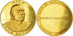 World Coins - France, Medal, Milo Emile Rocourt - Guerre 1939-1945, 1975, Cochet,