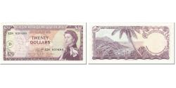 World Coins - Banknote, East Caribbean States, 20 Dollars, 1965, Undated (1965), KM:15i