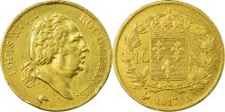 World Coins - Coin, France, Louis XVIII, 40 Francs, 1817, Paris, , Gold, KM 713.1