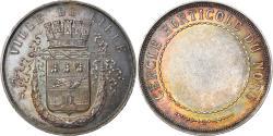 World Coins - France, Medal, Ville de Lille, Cercle Horticole du Nord, Flora, Esparon