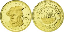 World Coins - Coin, Liberia, Martin Luther, 25 Dollars, 2000, American Mint, , Gold