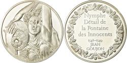 World Coins - France, Medal, Peinture, Nymphe Détail de la Fontaine des Innocents,