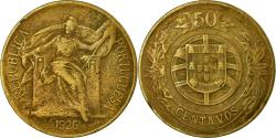 World Coins - Coin, Portugal, 50 Centavos, 1926, , Aluminum-Bronze, KM:575
